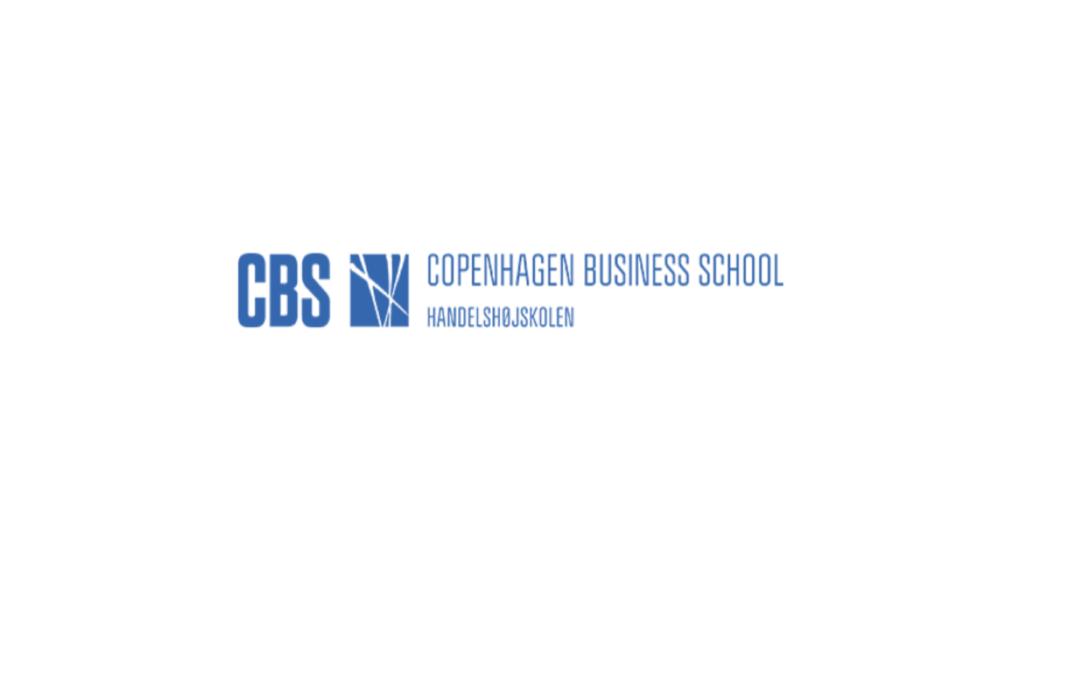 Super dejlig nytårshilsen fra en kommende kunde; CBS