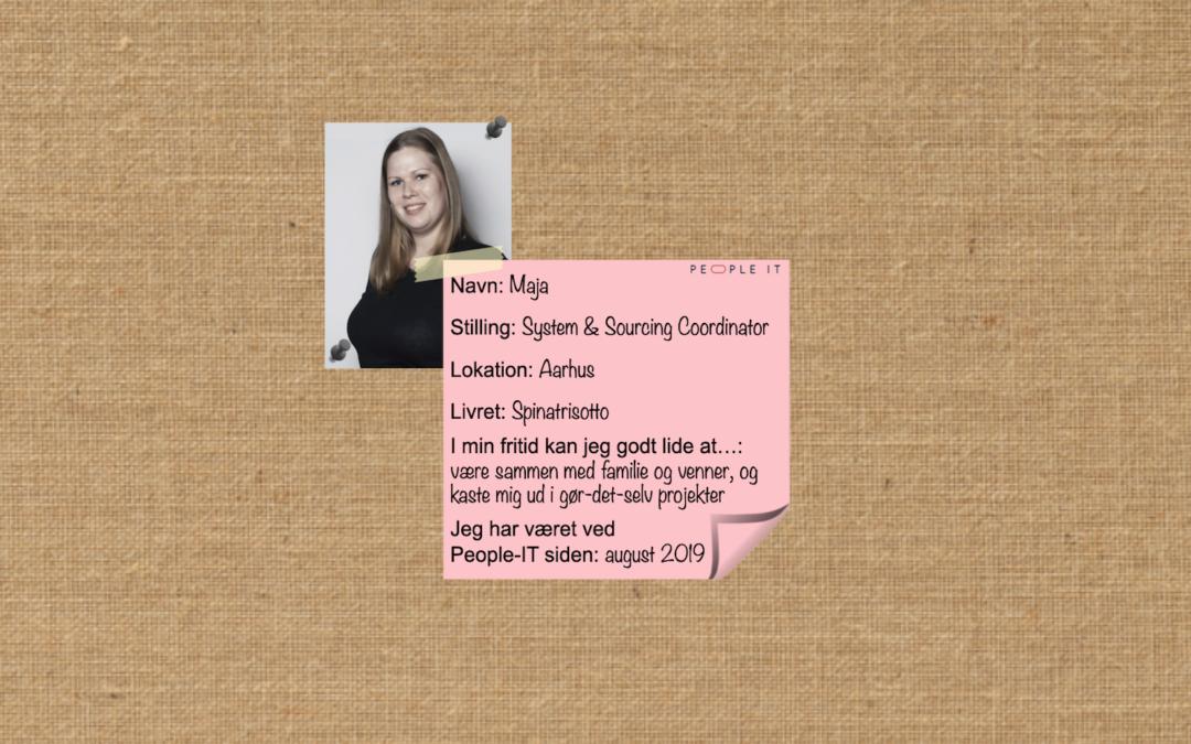Mød en medarbejder – Maja