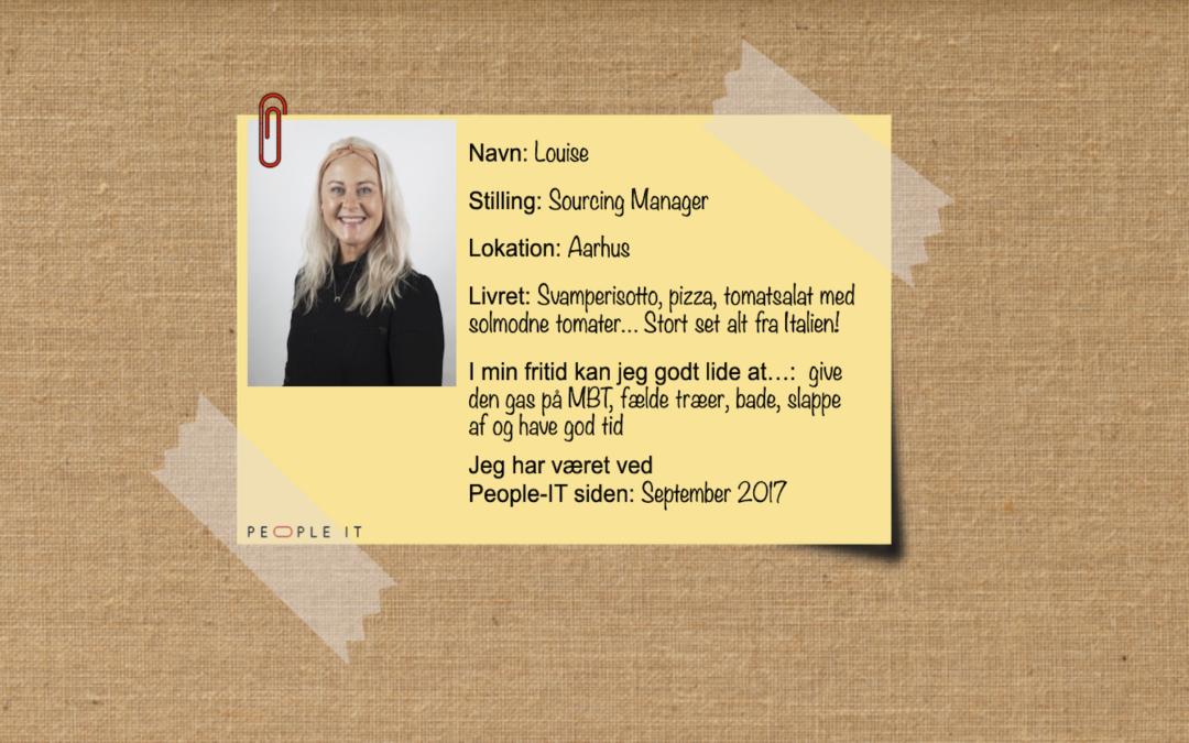 Mød en medarbejder – Louise