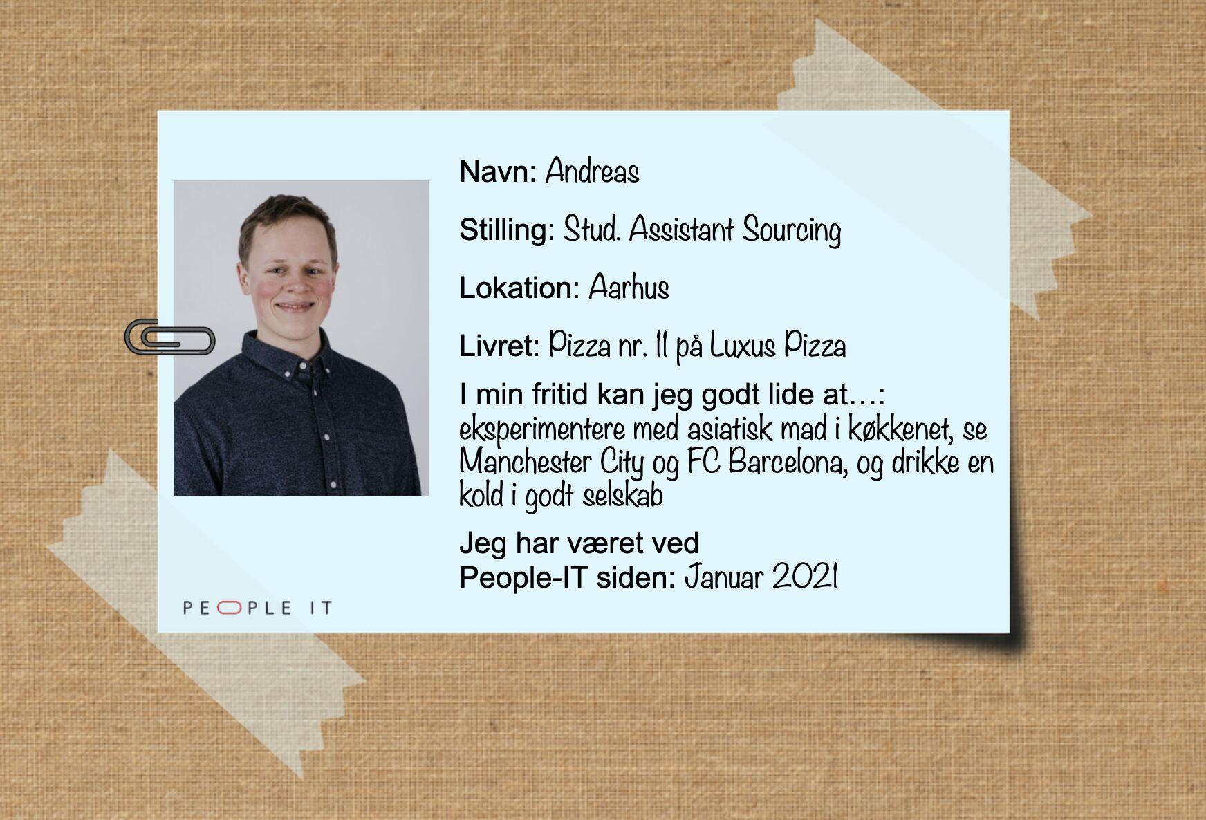 Andreas. People-IT. Freelance IT-konsulent
