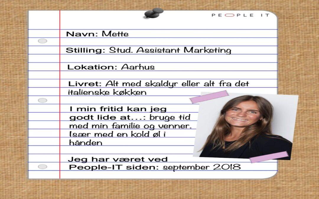 Mød en medarbejder – Mette