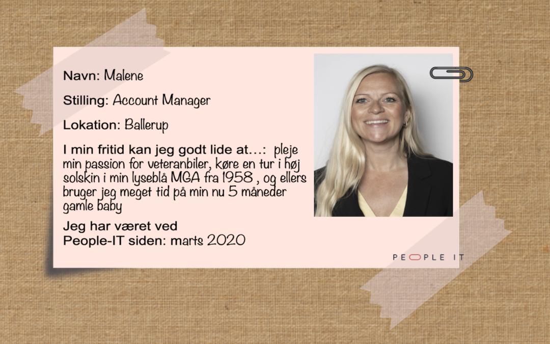 Mød en medarbejder – Malene