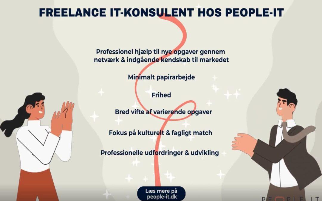 Det er fedt at være freelance IT-konsulent hos People-IT. Se bare her!