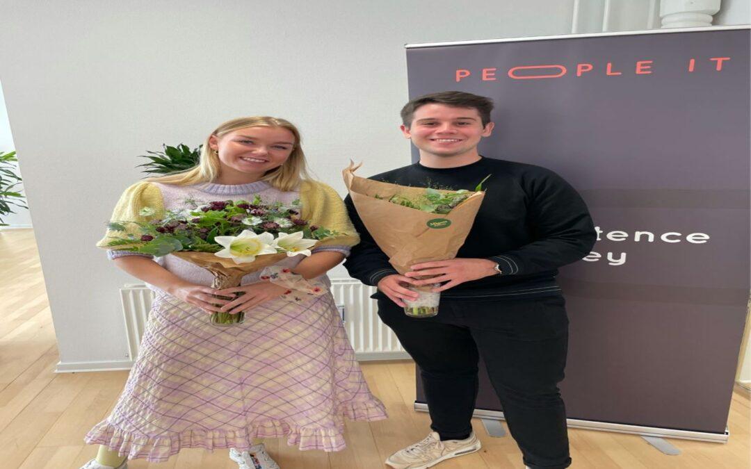 Stort velkommen til Sarah og Asger