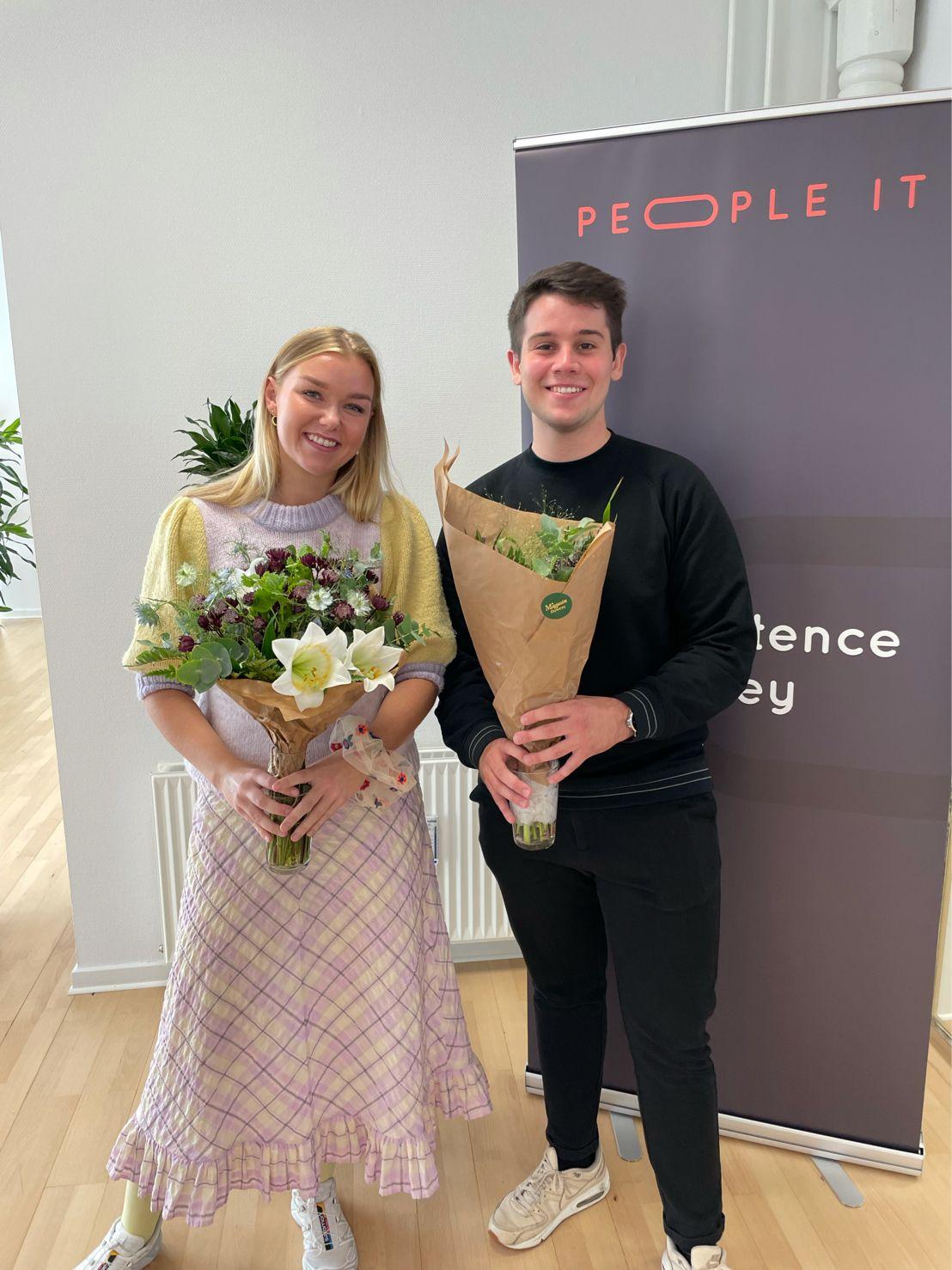 Sarah og Asger. Freelance IT-konsulent. People-IT