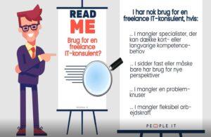 Brug for en freelance IT-konsulent. People-IT. Freelance IT-konsulent